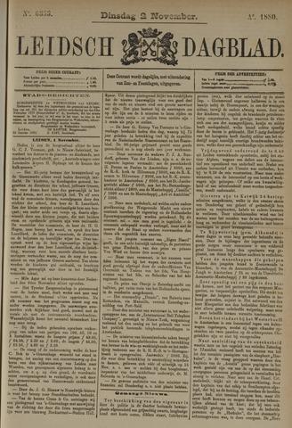Leidsch Dagblad 1880-11-02