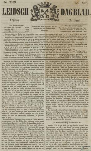 Leidsch Dagblad 1867-06-28