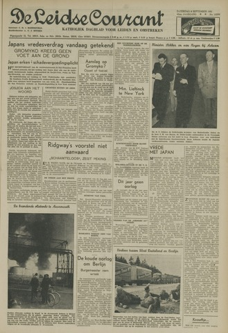 Leidse Courant 1951-09-08