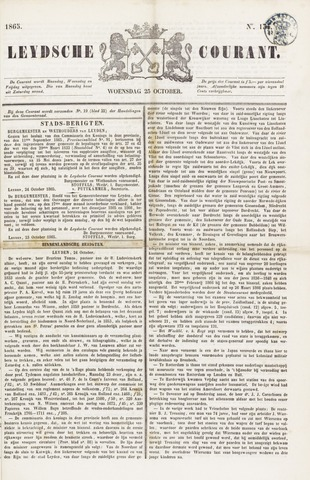 Leydse Courant 1865-10-25