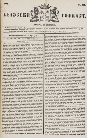 Leydse Courant 1884-12-22