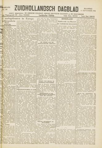 Zuidhollandsch Dagblad 1944-09-11