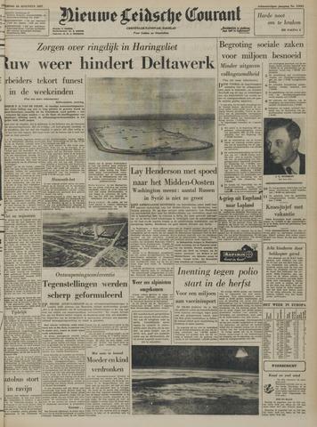 Nieuwe Leidsche Courant 1957-08-24