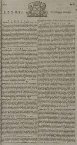 Leydse Courant 1727-07-09