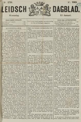 Leidsch Dagblad 1869-01-13