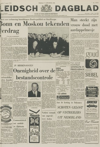 Leidsch Dagblad 1970-08-07
