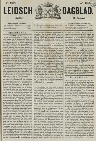 Leidsch Dagblad 1868-01-31