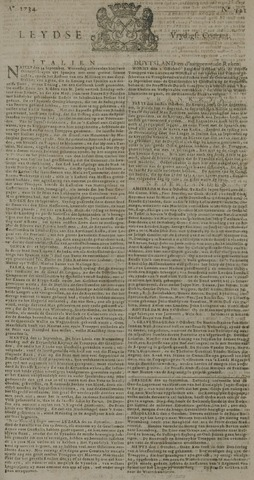 Leydse Courant 1734-10-08