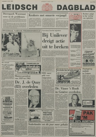 Leidsch Dagblad 1985-07-05
