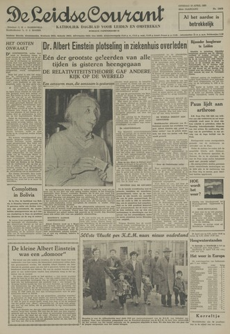 Leidse Courant 1955-04-19