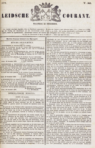 Leydse Courant 1879-12-22