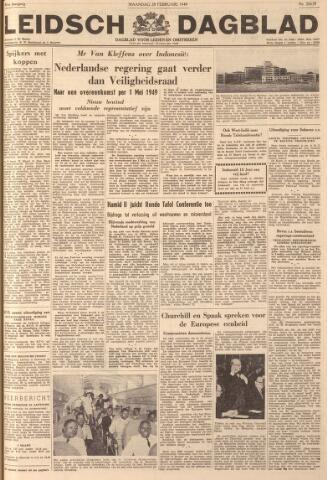 Leidsch Dagblad 1949-02-28
