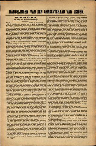 Handelingen van de Raad 1873-01-20