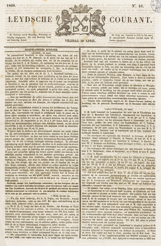 Leydse Courant 1860-04-20