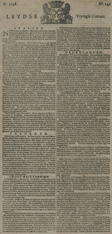 Leydse Courant 1748-11-22