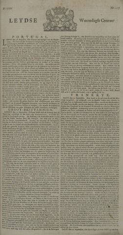 Leydse Courant 1722-09-30