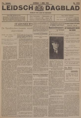 Leidsch Dagblad 1938-04-02