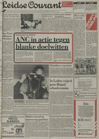 Leidse Courant 1985-10-21