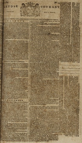 Leydse Courant 1784-04-09