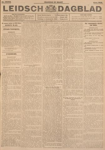 Leidsch Dagblad 1926-03-22