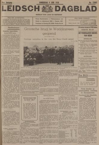 Leidsch Dagblad 1938-06-09