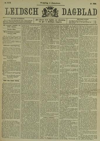 Leidsch Dagblad 1909-10-01