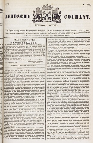 Leydse Courant 1876-10-11