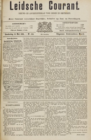Leydse Courant 1885-05-21