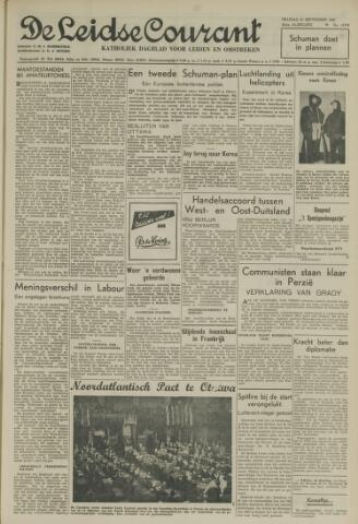 Leidse Courant 1951-09-21