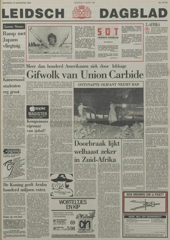 Leidsch Dagblad 1985-08-12