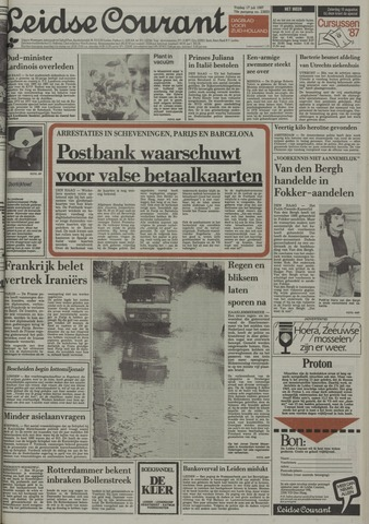 Leidse Courant 1987-07-17