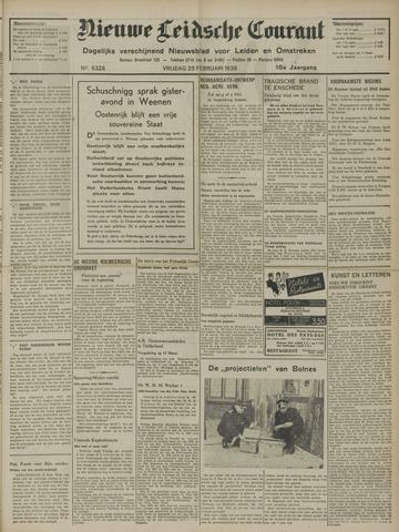 Nieuwe Leidsche Courant 1938-02-25