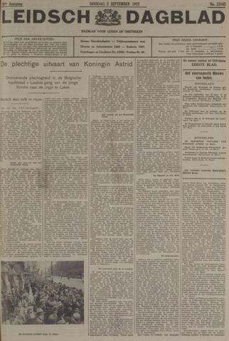 Leidsch Dagblad 1935-09-03
