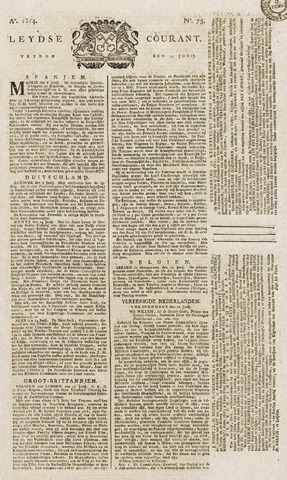 Leydse Courant 1814-06-24