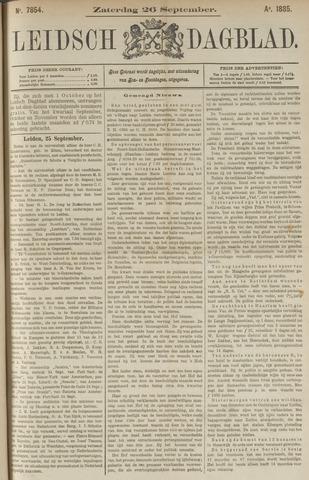 Leidsch Dagblad 1885-09-26