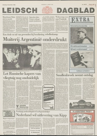 Leidsch Dagblad 1988-12-03