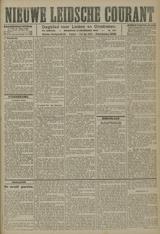 Nieuwe Leidsche Courant 1923-11-12