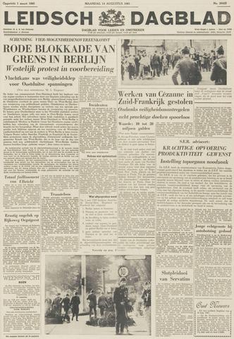Leidsch Dagblad 1961-08-14