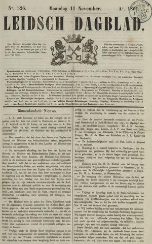 Leidsch Dagblad 1861-11-11
