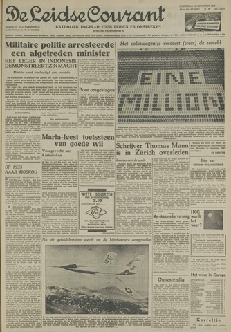 Leidse Courant 1955-08-13