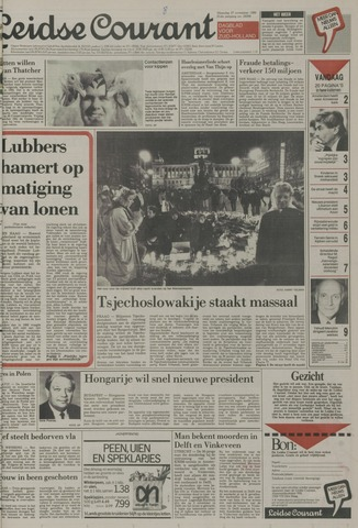 Leidse Courant 1989-11-27