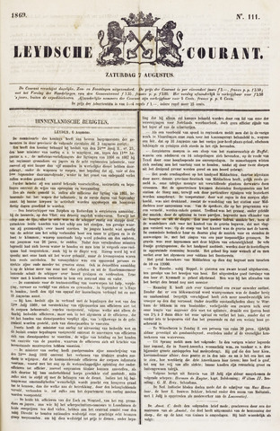 Leydse Courant 1869-08-07