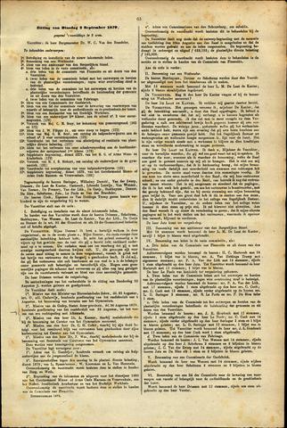 Handelingen van de Raad 1879-09-02