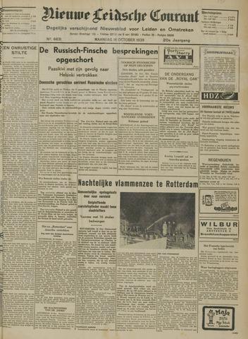 Nieuwe Leidsche Courant 1939-10-16