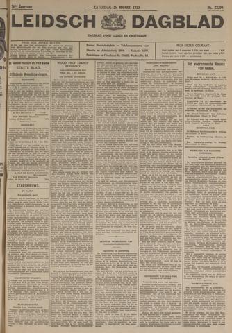 Leidsch Dagblad 1933-03-25