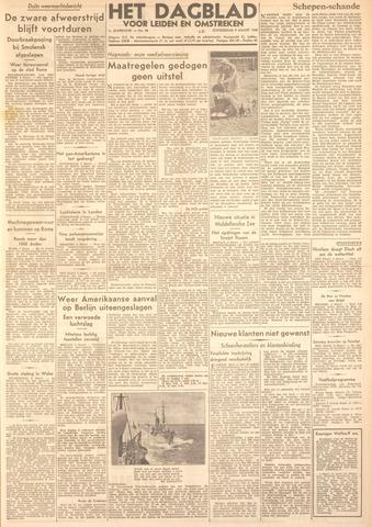 Dagblad voor Leiden en Omstreken 1944-03-09