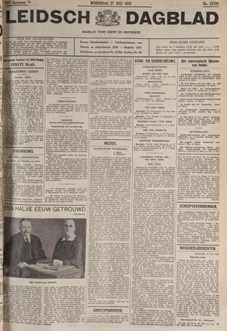 Leidsch Dagblad 1932-07-27