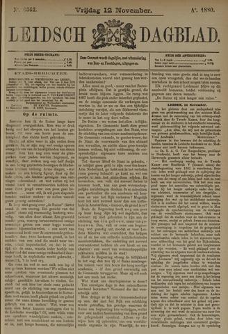 Leidsch Dagblad 1880-11-12