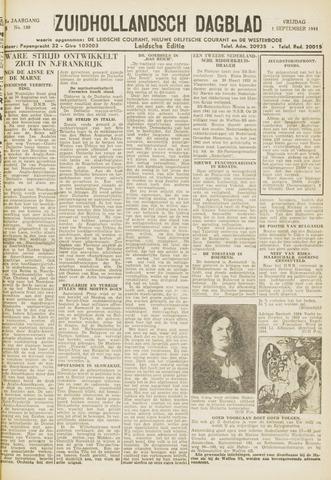 Zuidhollandsch Dagblad 1944-09-01