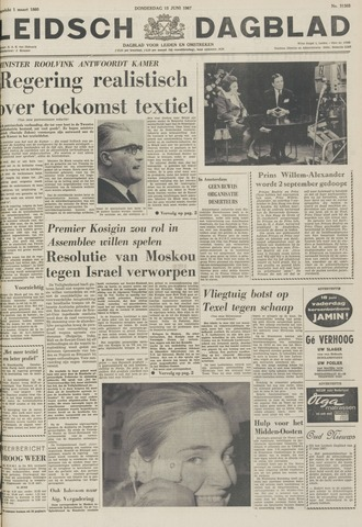 Leidsch Dagblad 1967-06-15